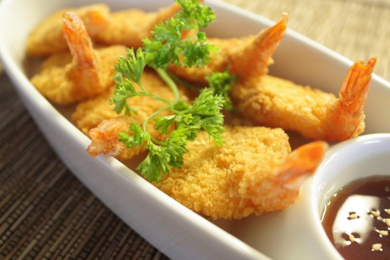 Table-Thai-Bar-Bistro-Coconut-Shrimp