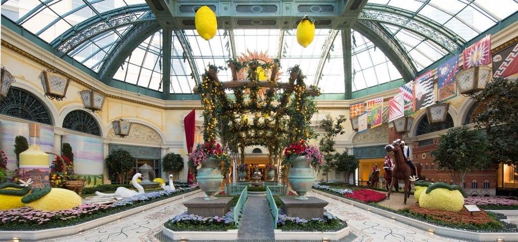 2019 ITALIAN SUMMER DISPLAY - Bellagio's Conservatory East Garden