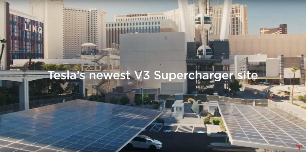 Tesla V3 Supercharger Las Vegas