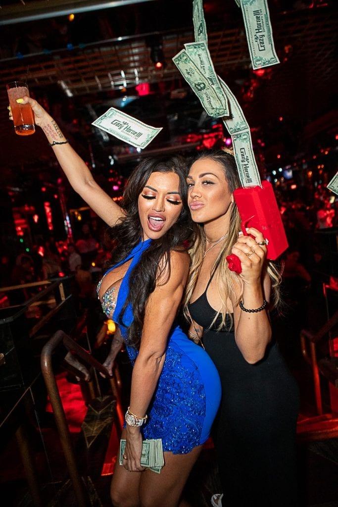 Toochi Kash and Jen Harley with Money Gun
