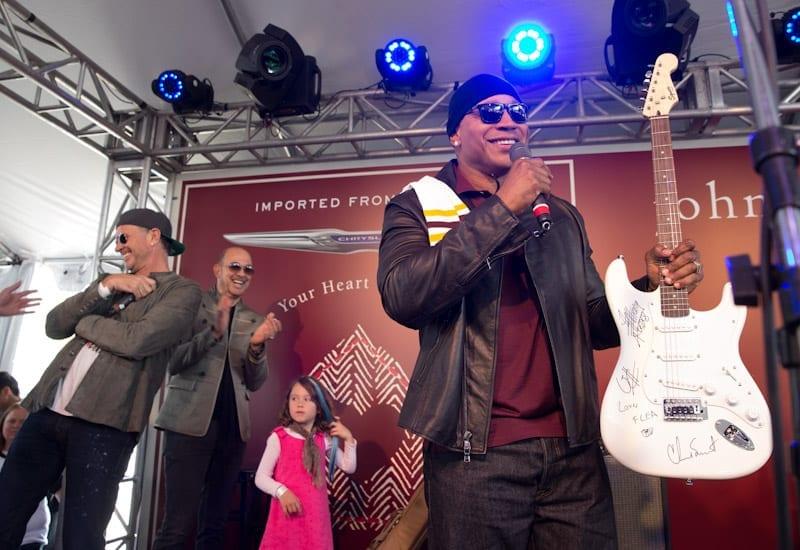 Chad Smith, John Varvatos, and LL Cool J at John Varvatos 11th Annual Stuart House Benefit