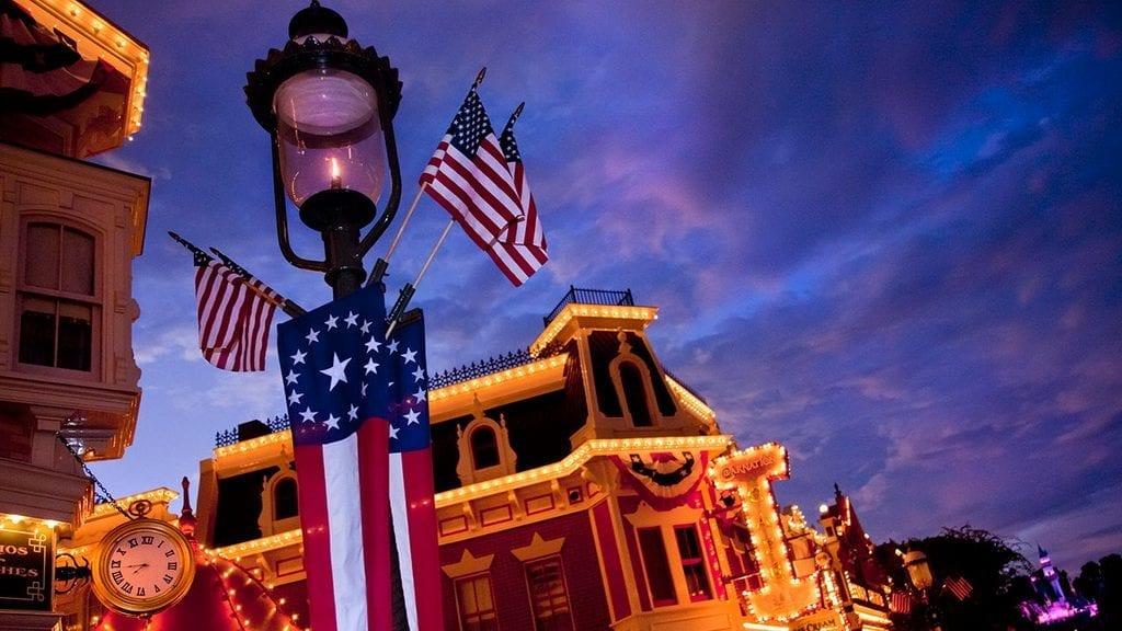 Disneyland Celebrates 4th of July