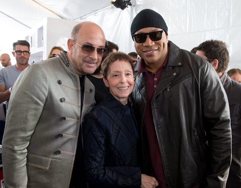 John Varvatos, Gail Abarbanel, and LL Cool J at John Varvatos 11th Annual Stuart House Benefit