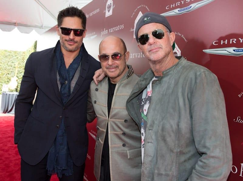 John Varvatos, Joe Manganiello, and Chad Smith at John Varvatos 11th Annual Stuart House Benefit