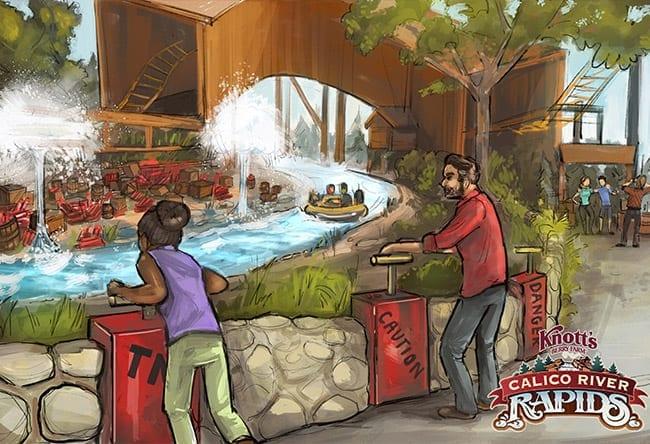 Knott's Berry Farm - Calico River Rapids