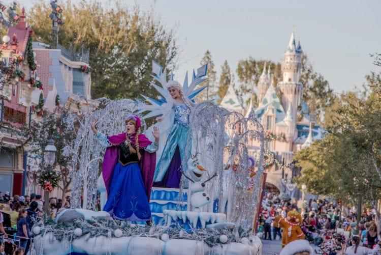 """Holidays at Disneyland Resort - """"A Christmas Fantasy"""" Parade at Disneyland Park"""