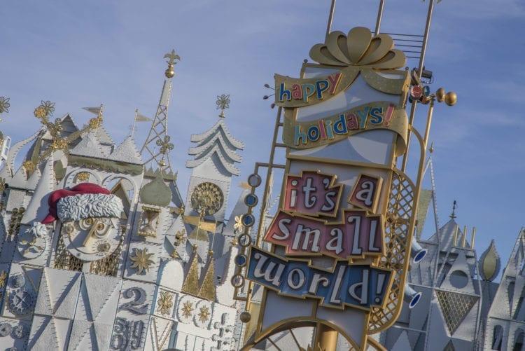 """Holidays at Disneyland Resort - """"it's a small world"""" Holiday at Disneyland Park"""
