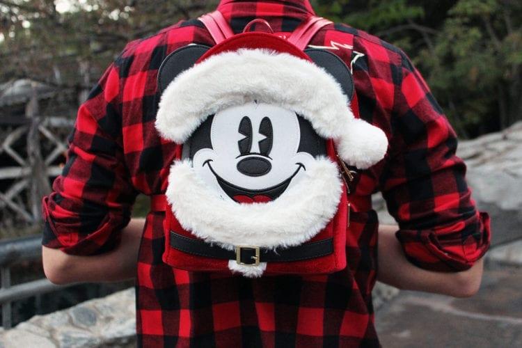 Holidays at Disneyland Resort – Santa Mickey Mouse Mini Backpack