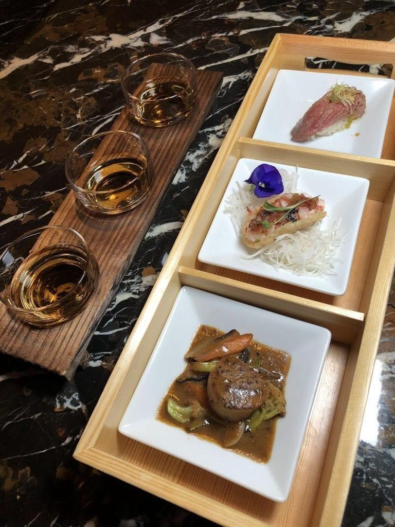 Nobu Restaurant Caesars Palace - Japanese Whisky Flight and Bites