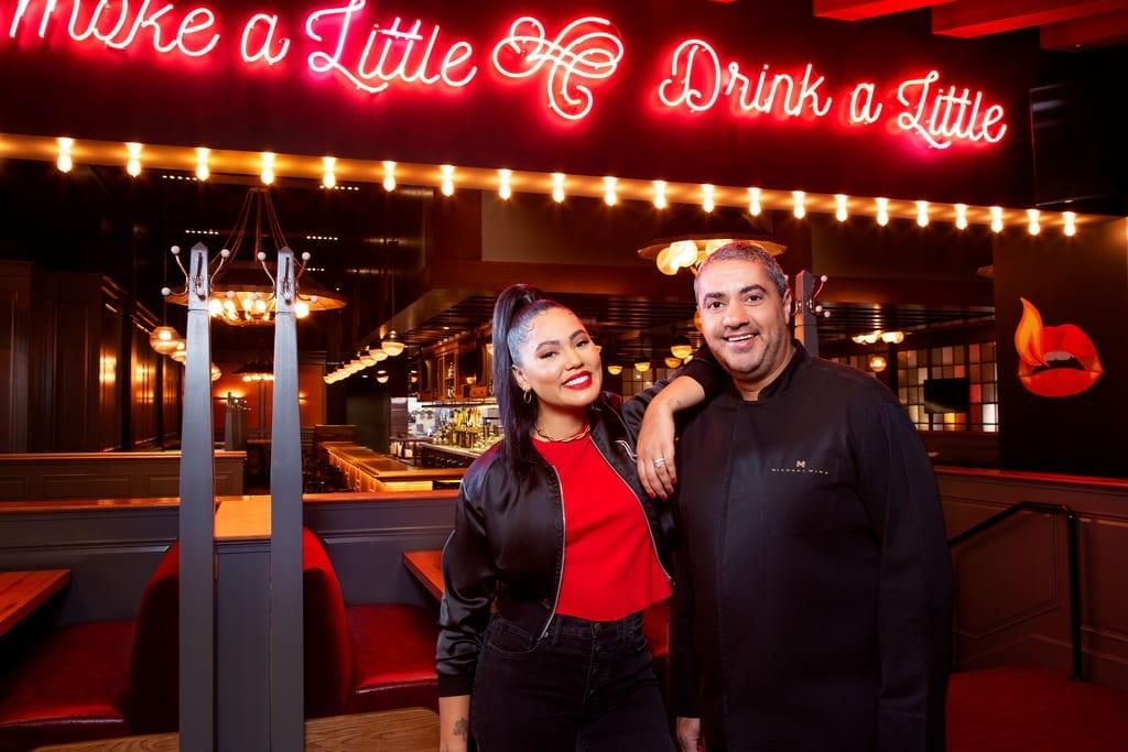 MGM Grand - International Smoke - Ayesha Curry and Michael Mina - Photo Credit MGM Resorts International