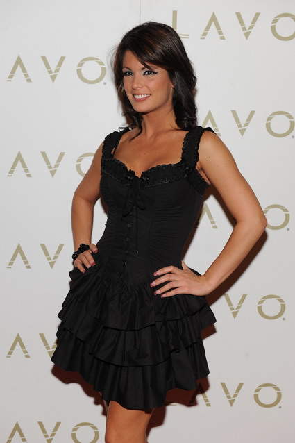 Laura Croft at LAVO Nightclub
