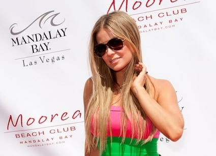 Carmen Electra at Moorea Beach Club
