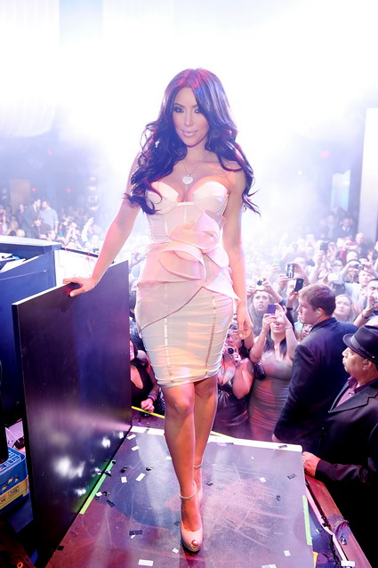Kim Kardashian Hosts Valentine's Day at Marquee