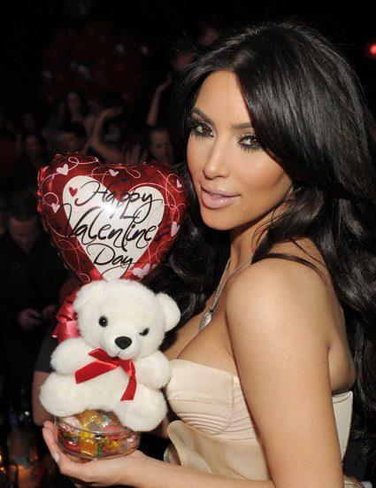 Kim Kardashian Hosts Valentine's Day at Marquee