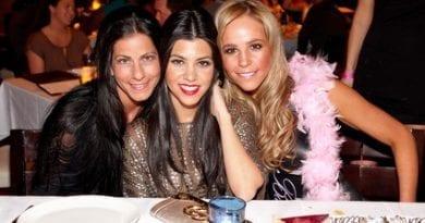 Kourtney Kardashian and friends.
