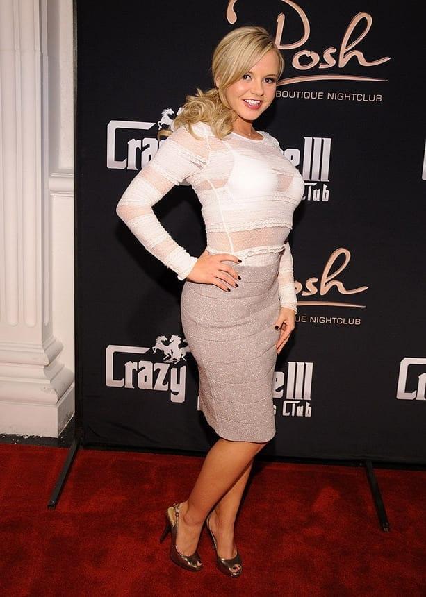 Bree Olson at Posh Boutique Nightclub