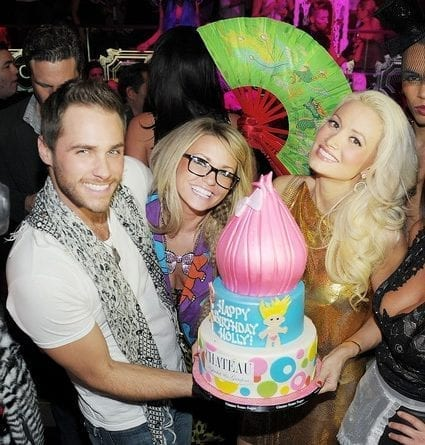 'Peepshow' Star Holly Madison Celebrates Her Birthday At Chateau Nightclub And Gardens
