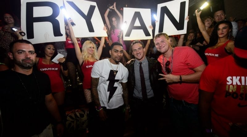 Olympic Swimmer Ryan Lochte Parties at TAO Nightclub
