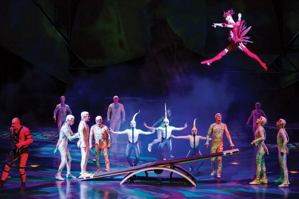 Top 10 Shows in Las Vegas - Mystere by Cirque du Soleil