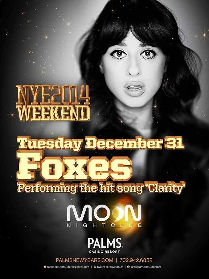 Foxes Performing Live at MOON Nightclub