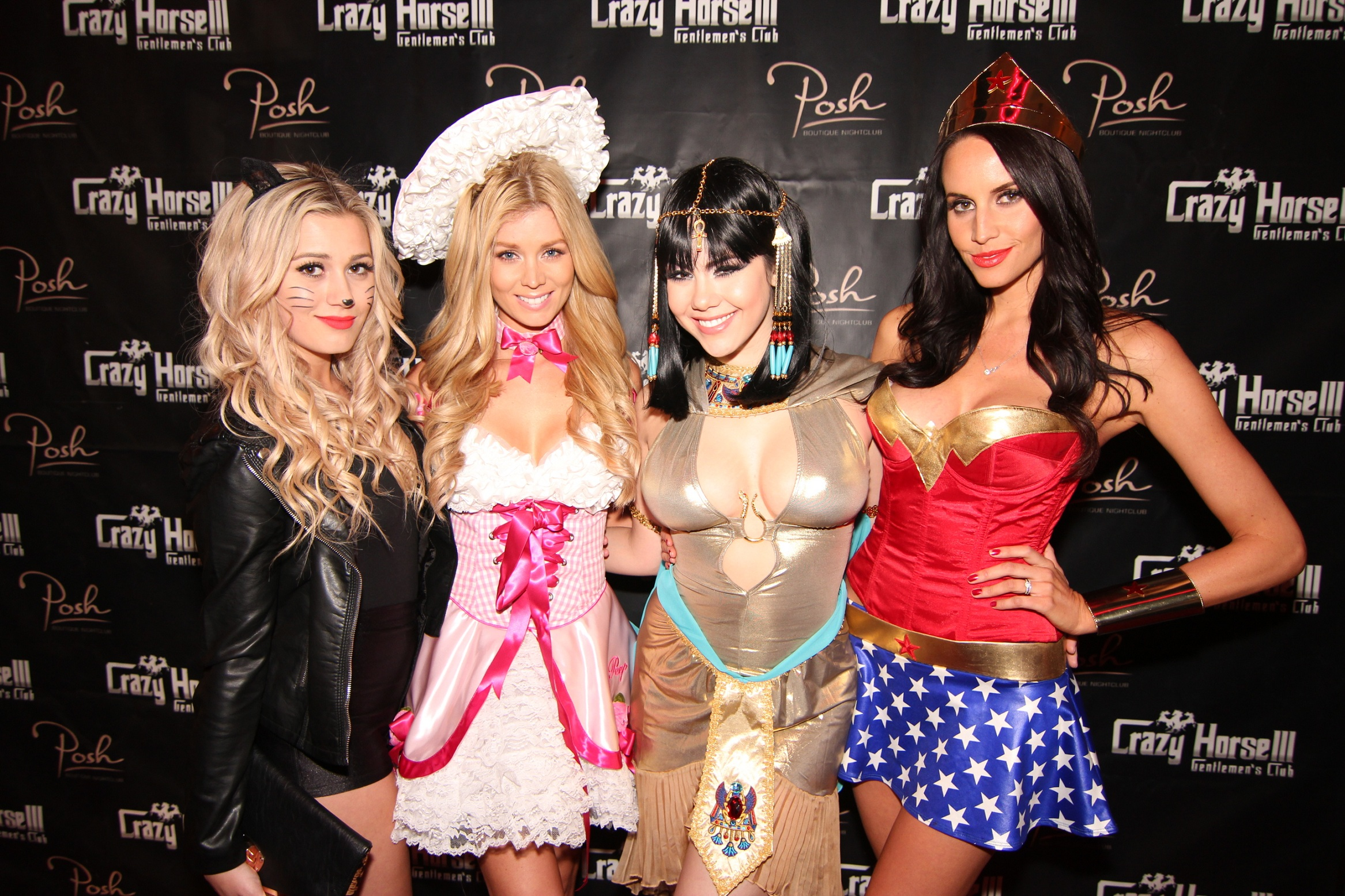 Karissa Pukas, Sheridyn Fisher,  Claire Sinclair and Lauren Vickers at Crazy Horse III