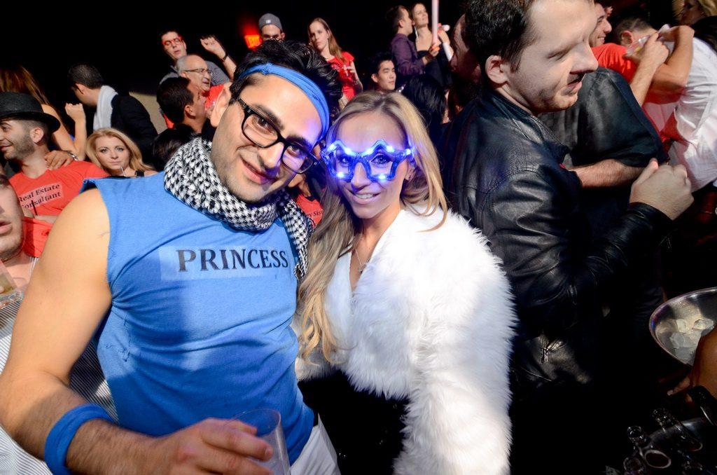 Antonio Esfandiari & Friend at Marquee Nightclub