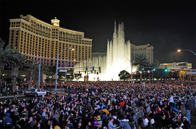 road closures on new years eve in las vegas travelivery