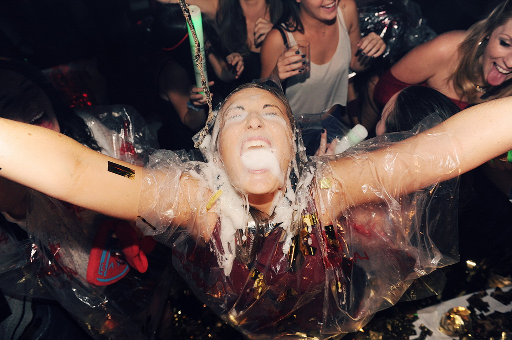Champagne Facial at LAVO Party Brunch