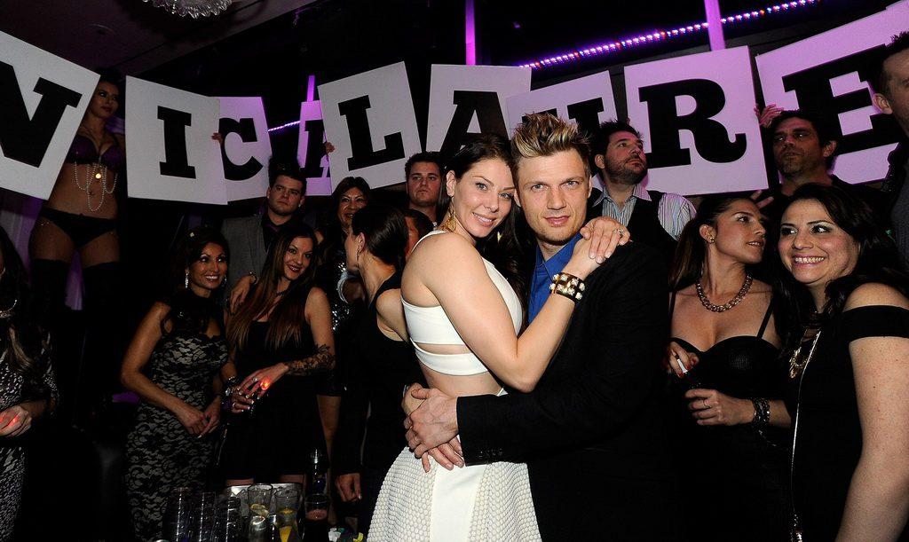 Lauren Kitt and Nick at Ghostbar (David Becker)