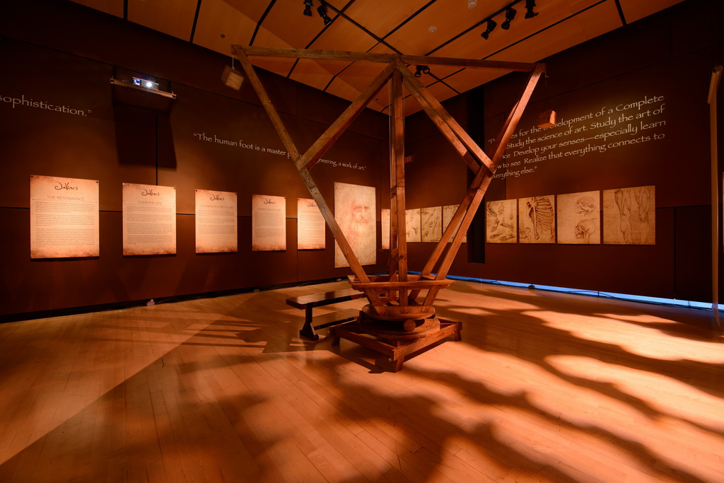 Da Vinci The Exhibition