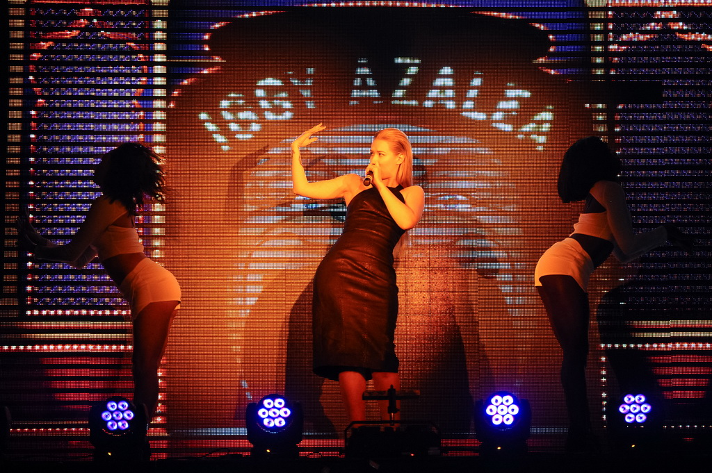 Iggy Azalea Performs at TAO