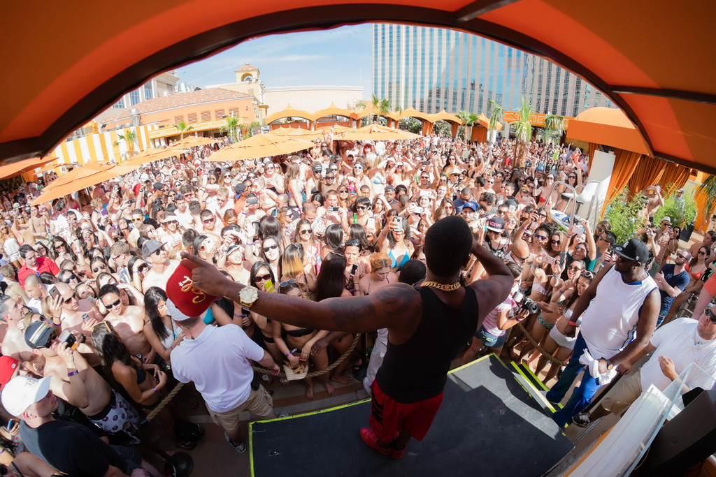 Jason Derulo Performance at TAO Beach Season Opening