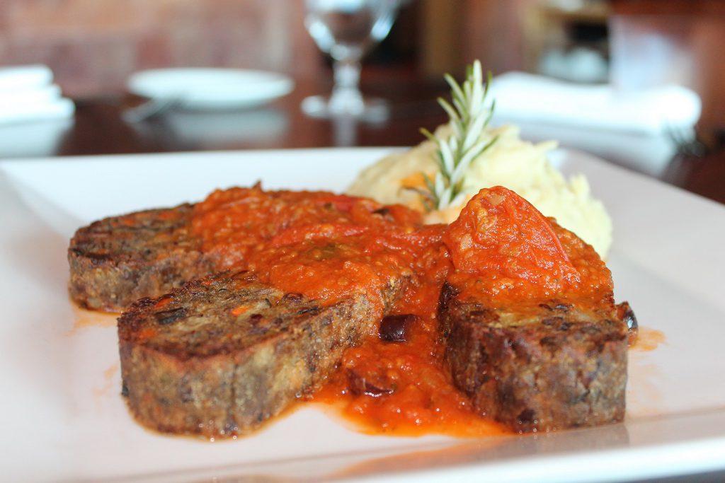 Panevino Ristorante Vegan Menu Meatloaf