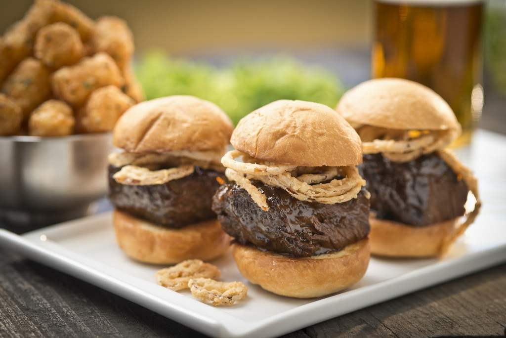 Short Rib Sliders at Carson Kitchen