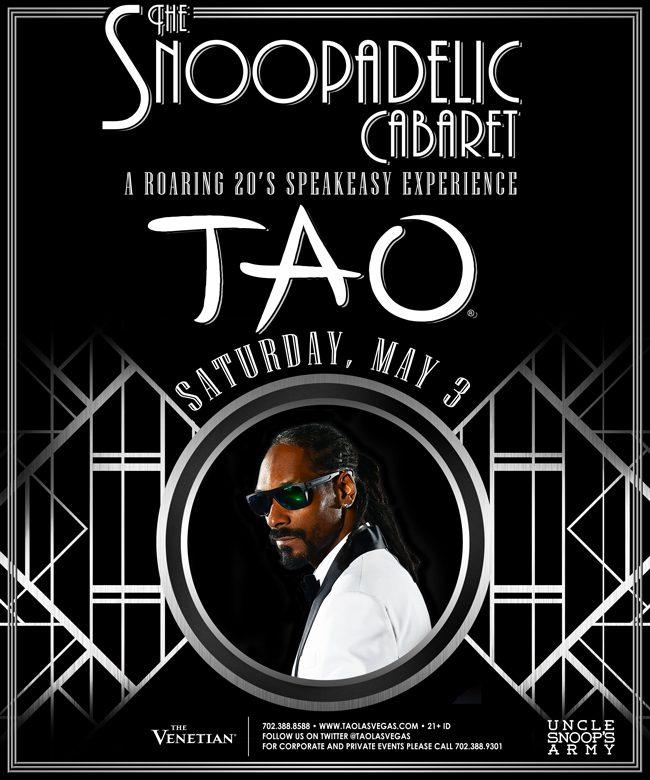 Snoop Dogg & the Snoopadelic Cabaret at TAO