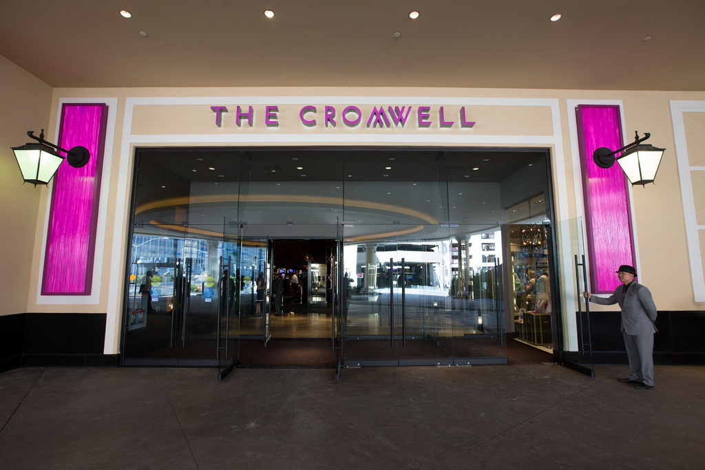 The Cromwell Las Vegas Front Entrance