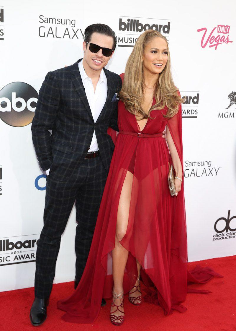 Casper Smart & Jennifer Lopez at 2014 Billboard Music Awards