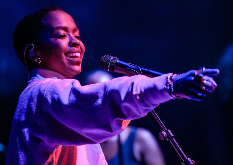 Lauryn Hill at Brooklyn Bowl Las Vegas