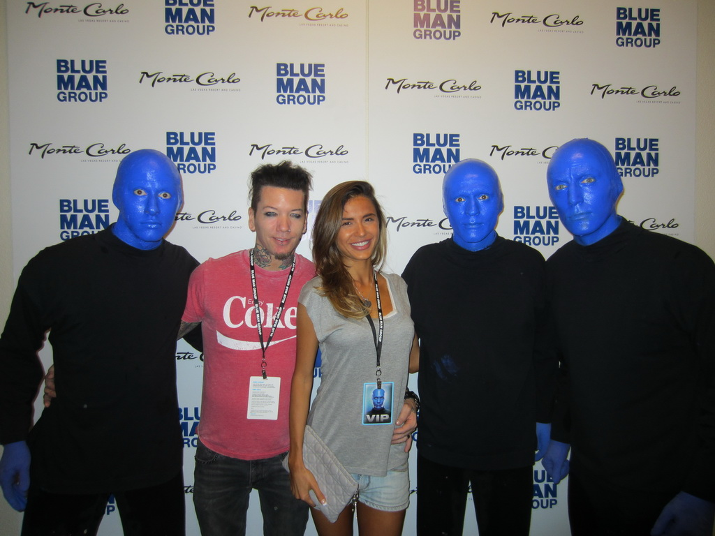 Blue Man Group Dj 83