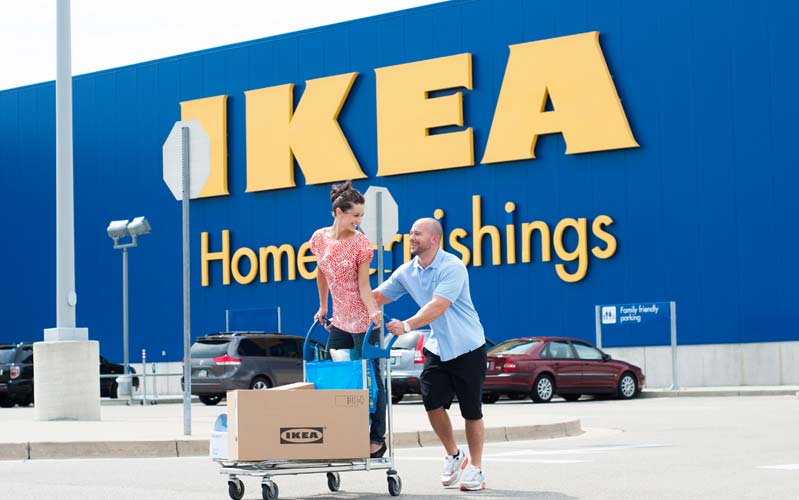 Delivery rates may vary Check if we have stock in IKEA Las Vegas 3. Proceed to checkout, and select