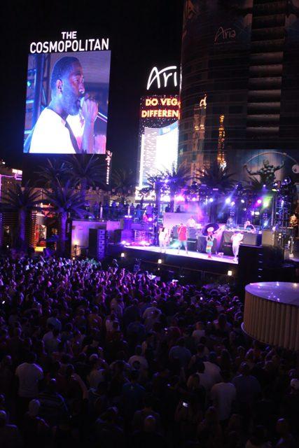 Jurassic 5 performs at Boulevard  Pool at The Cosmopolitan of Las Vegas