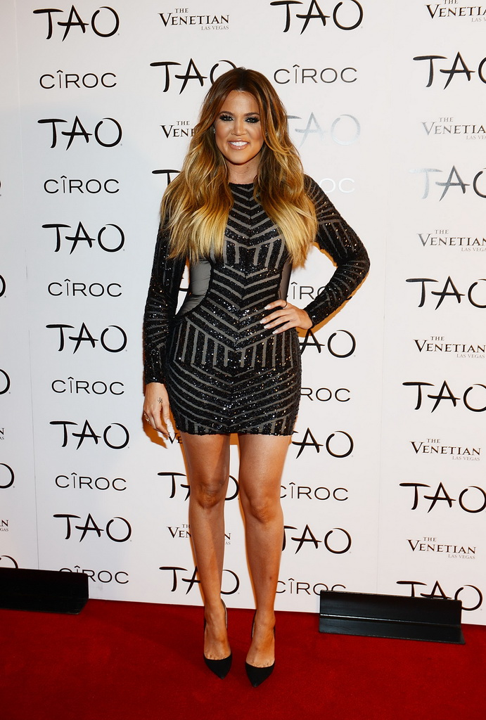 Khloe Kardashian Celebrates Her 30th Birthday At TAO Nightclub