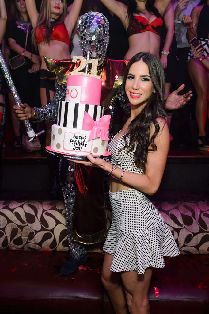 Jen Selter Birthday Cake at TAO