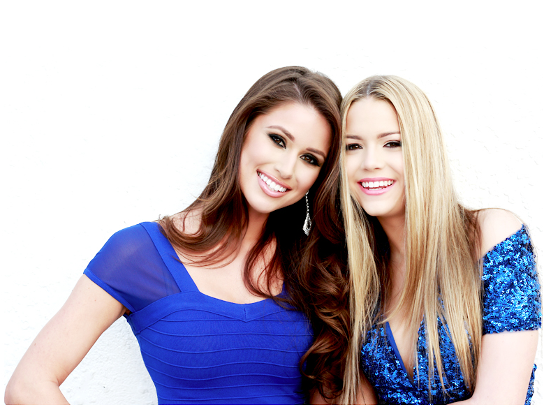 Miss Nevada USA - Miss USA Nia Sanchez and Miss Nevada Teen Alexa Taylor