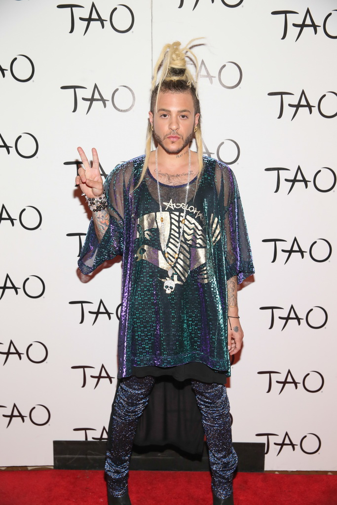 Ferras Walks Red Carpet at TAO Nightclub