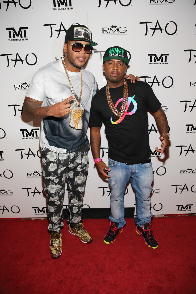 Flo Rida and P-Reala at TAO