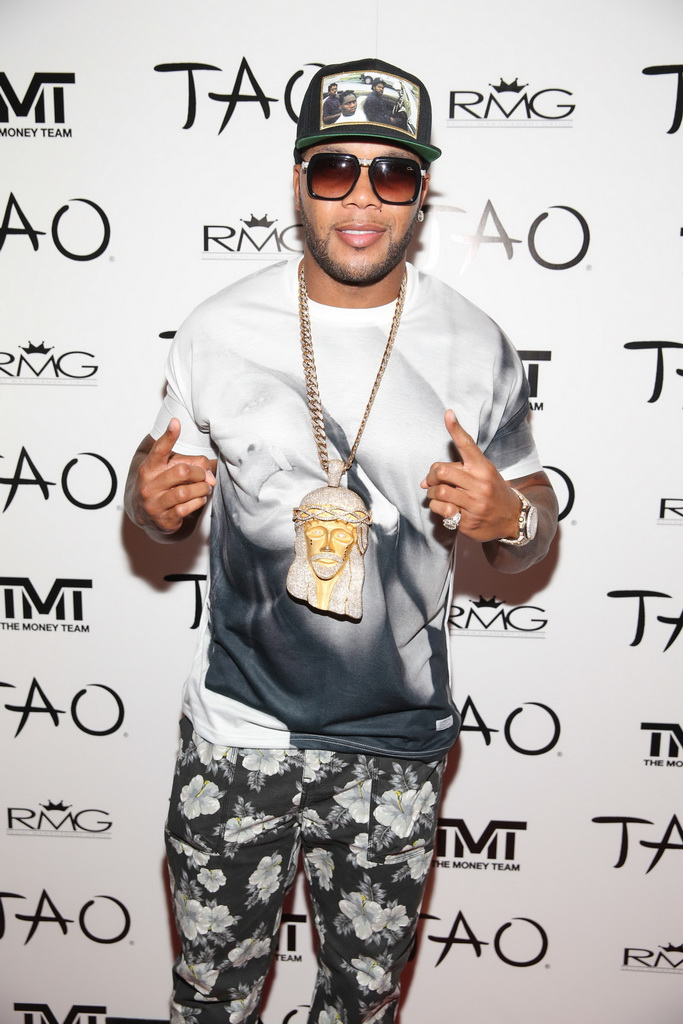 Flo Rida at TAO Nightclub