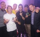 Marvin Humes, Niall Horan, Diplo, Zayn Malik, DJ Pauly D, & Jesse Waits at XS