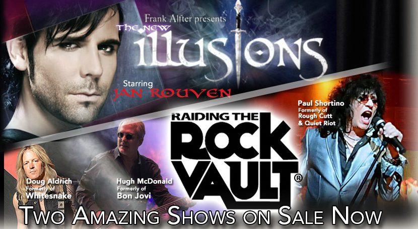 Tropicana Las Vegas - New Illusions & Raiding the Rock Vault