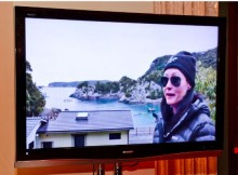 Shannen Doherty live stream from Taiji Japan inside Sea Shepherd Exhibit at Encore